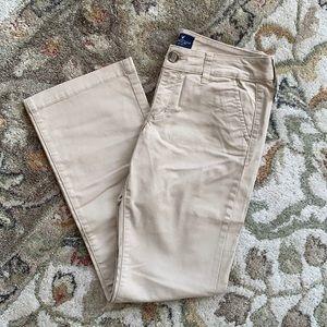 AE beige casual pants NWT